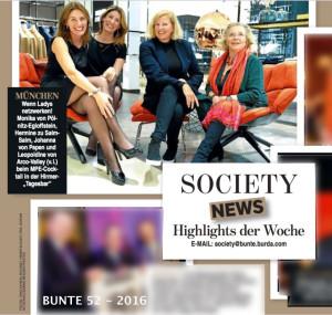 BUNTE Beitrag vom 29. Dez 2016_Ausgabe 52_Seite 107_über MPE-UPDATE bei Hirmer