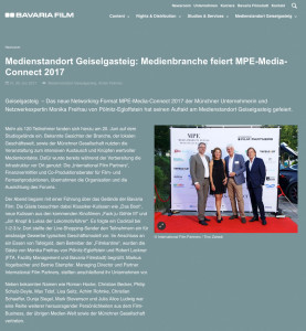 Bavaria-Medienstandort Geiselgasteig