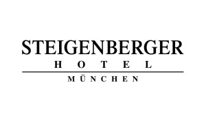 Logo Steigenberger München - schwarz transparent