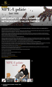 MPE-Update – ideales Sommer-Networking zu allen Themen - jetset-media.de