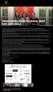 Sensationelles Networking beim MPE-Art-Circle in München_jetset-media.de